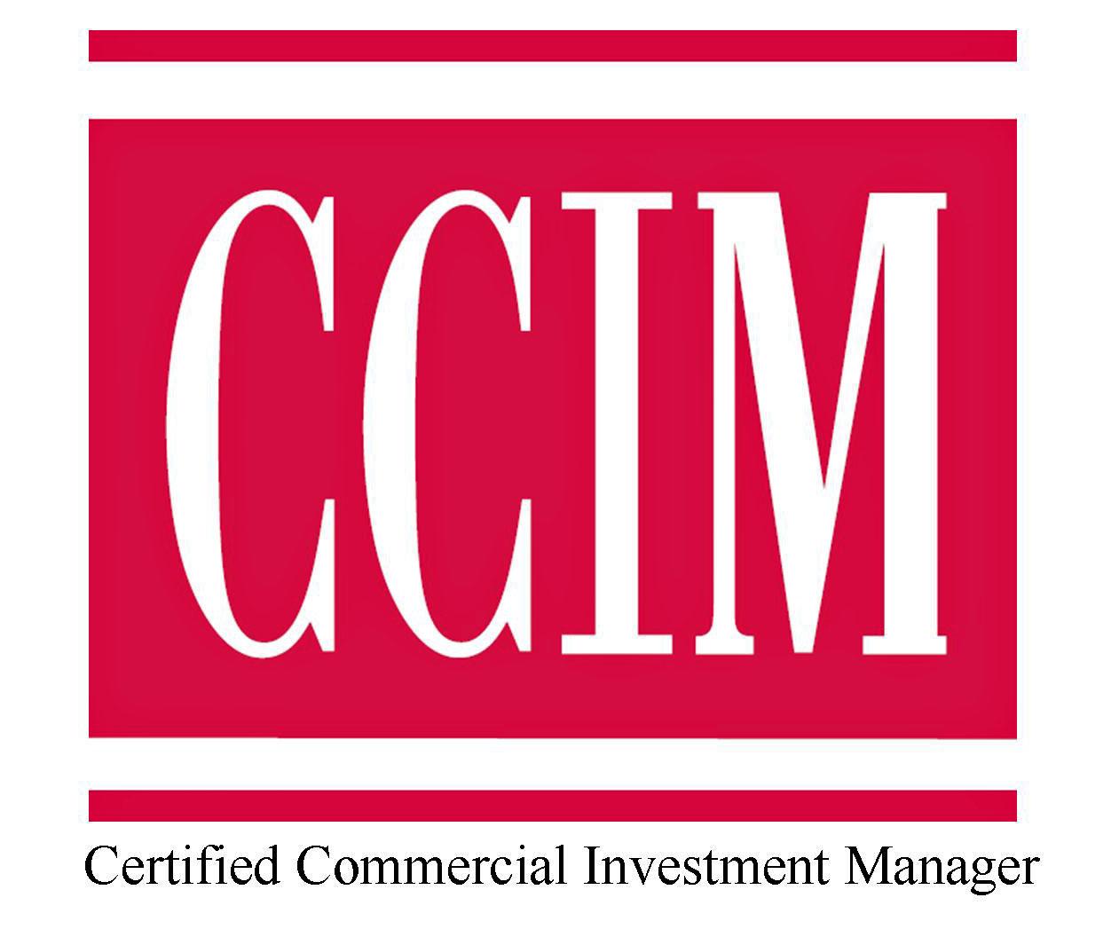 CCIM Logo RED Commercial Realtor