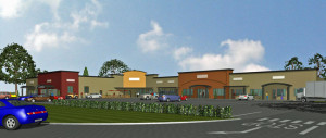 US 19 Front Building Rendering