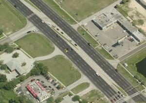 Aerial US 19 8 lane